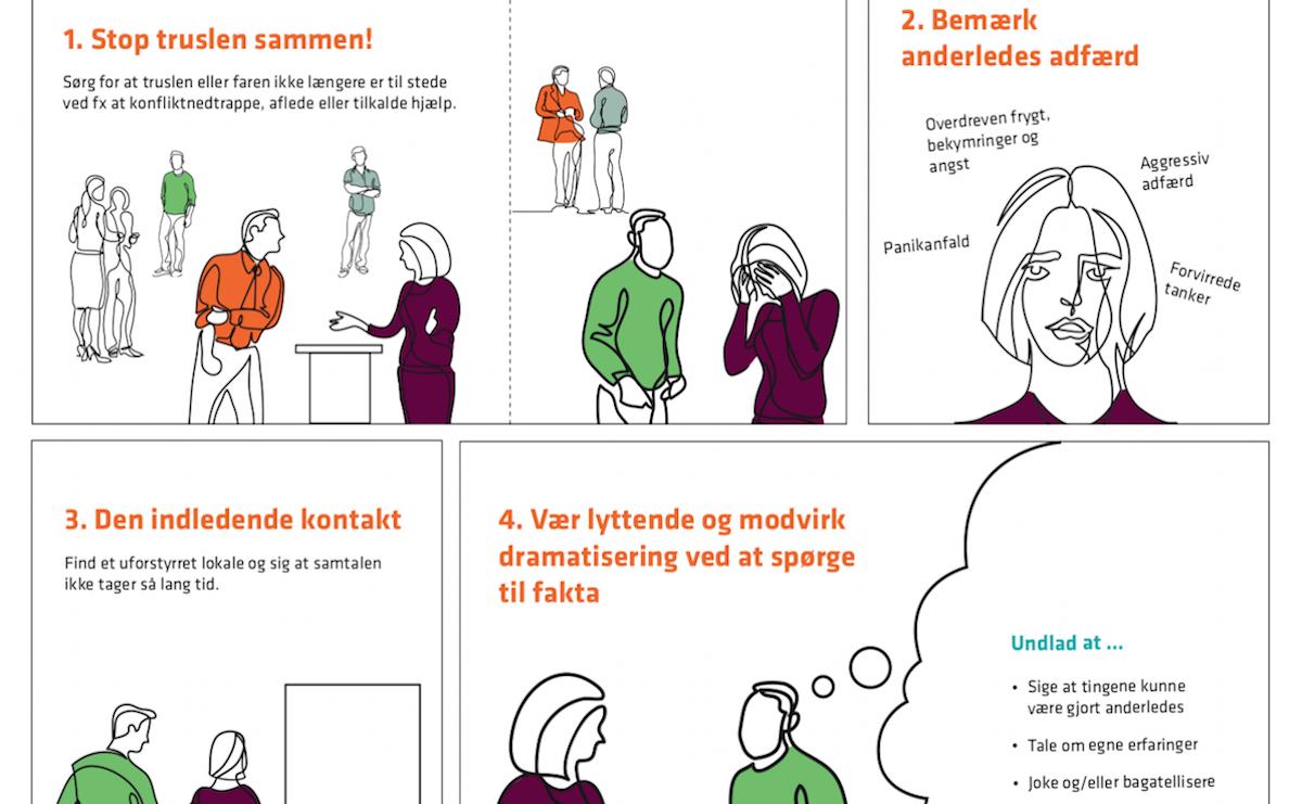 Guides til forebyggelse og håndtering af voldsomme episoder på arbejdspladsen