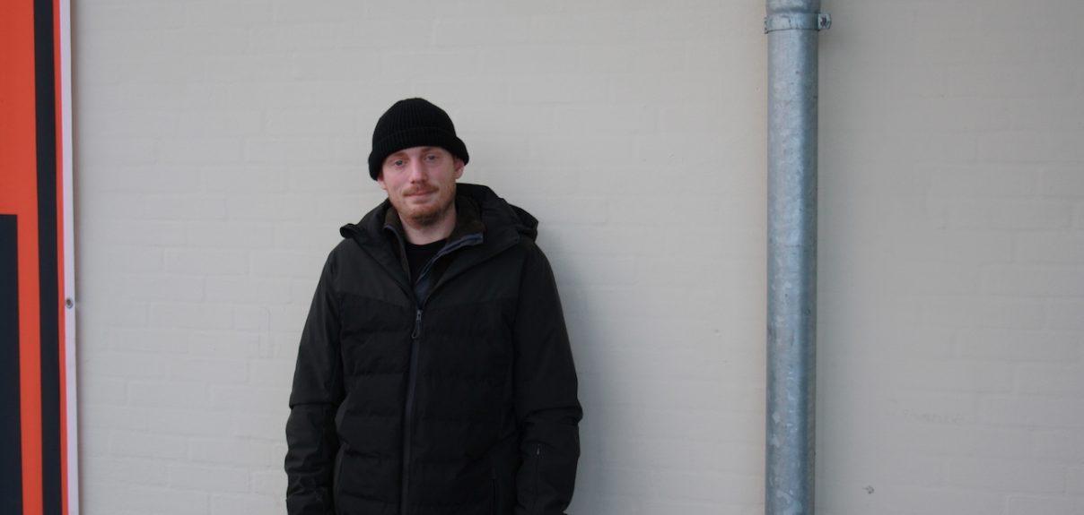 Kristian op ad en mur